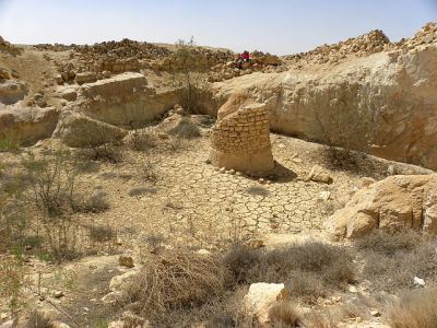 nabatean-well